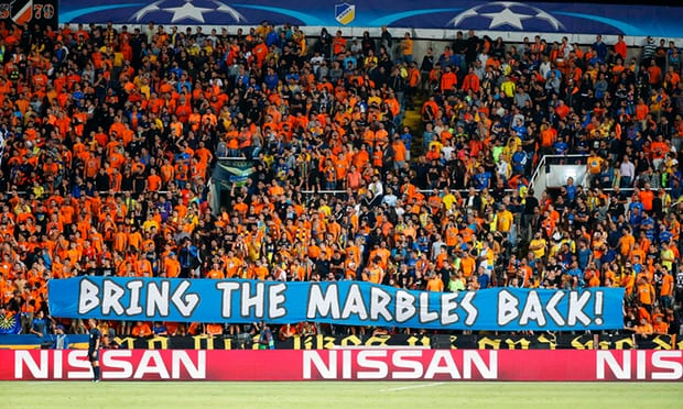 Sports Diplomacy: Football Fans Using Banners at Matches to Score Political Points