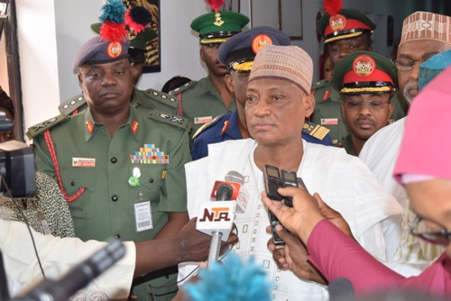 Nigerian Minister Hails Good Rapport Between Foreign Missions, Defence Sections