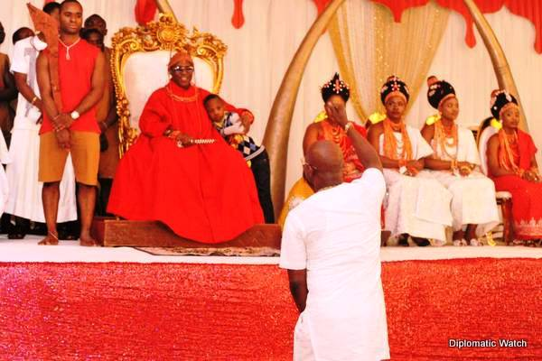 Eletu, Others Join Oba Of Benin To Commemorate First Year Coronation Anniversary