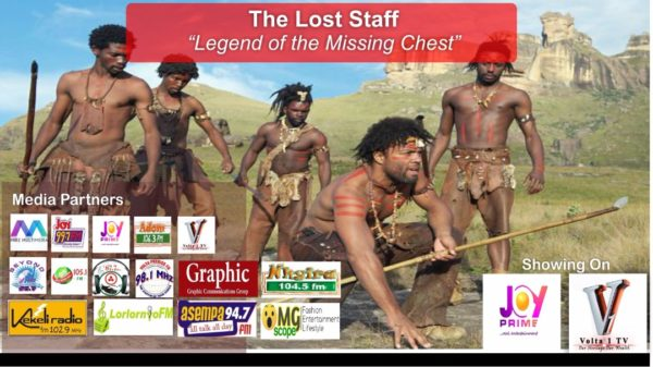 "New Dawn For Tourism In Ghana As GEK Media Communication Debuts With TV Series, The Lost Staff ""Legend of the Missing Chest"""
