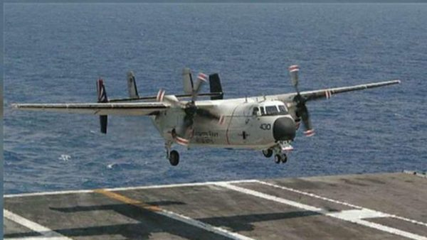 Breaking: U.S. Navy Plane With 11 On Board Crashes Into Pacific Ocean Off Japan, 8 Found