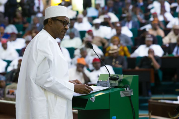 Nigeria's President Buhari Presents Record Budget N8.6tr For 2018