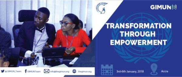 GIMUN Conference In Accra, Ghana – January 3-6, 2018
