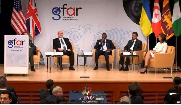 Int'l Anti-Corruption Day: U.S., UK Host Global Forum On Asset Recovery For Nigeria, Ukraine, 2 Others