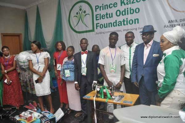 Ecstasy As Prince Kazeem Eletu Odibo Foundation Empowers Youths, Women