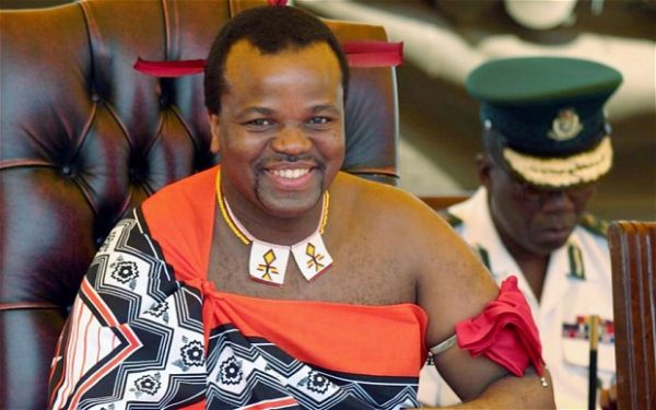 Swaziland's King Mswati III Buys $7.5BMW Cars For 50th Birthday, 50th Independence Anniversary