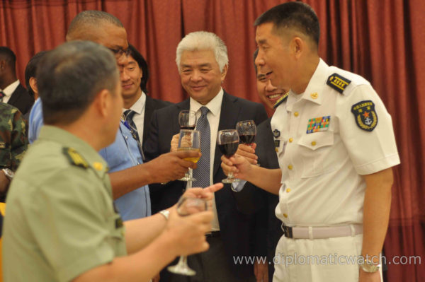 Sights: Chinese Welcome Reception In Honour Of 28th Naval Escort Task Force In Lagos