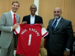 Kagame-supports-Arsenal
