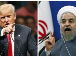 Donald-Trump-and-Hassan-Rouhani