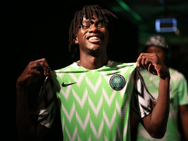 1647f4852 Nigeria World Cup 2018 kit  Home Nike Shirt Sold Out In Minutes As ...