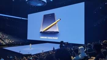 The Galaxy Note 9 Has Been Officially Unveiled