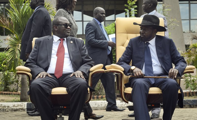 South Sudan Government And Warring Parties Sign Peace Deal