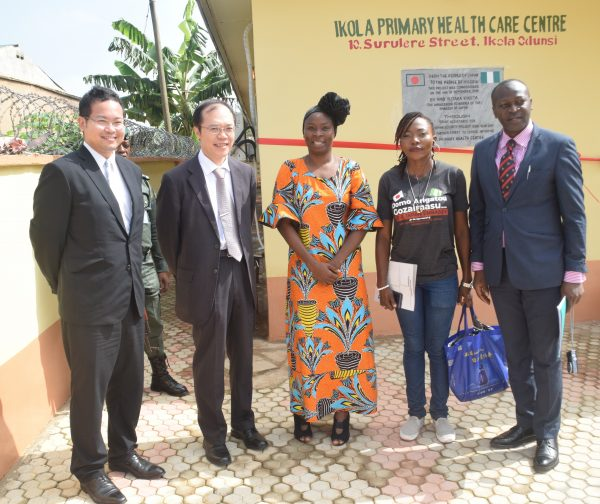 Japan Partners With Street-to-School Initiative To Improve Primary Health Care Centre In Lagos