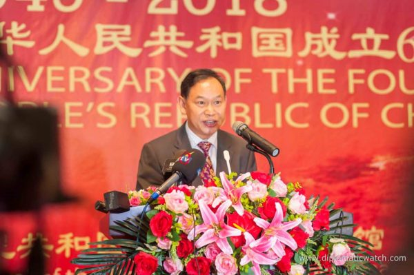 Chinese National Day: Welcome Remarks By Mr. Chao Xiaoliang, The Chinese Consul General, Lagos