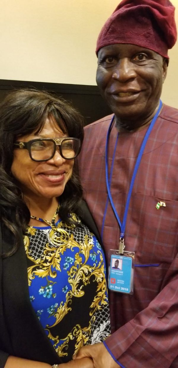 Chief Temitope Ajayi (A.K.A. Mama Diaspora) Adds Her Voice Against Corruption At the AU-Nigeria High Level Dialogue In New York