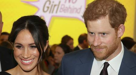 Prince Harry And Meghan Attend Mental Health Charity Concert