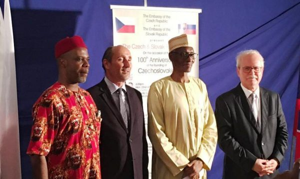 Celebrating The 100th Anniversary Founding Of Czechoslovakia In Nigeria