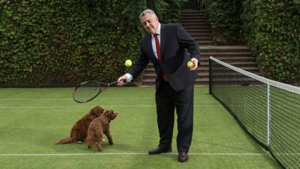 Hockey Uses Grass Tennis Diplomacy In DC