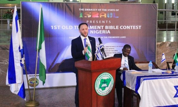 The 1st National Bible Contest Advocates For Peace And Non-Violence Elections – Israeli Envoy