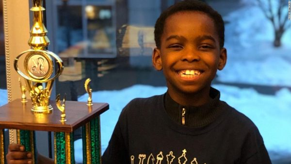 Nigeria To The World: 8 Year Old Nigerian Immigrant Wins Chess Championship