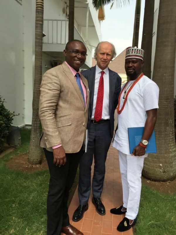 Prince Kazeem Eletu Odibo Meets With Foreign Diplomats During Business Tour To Abuja