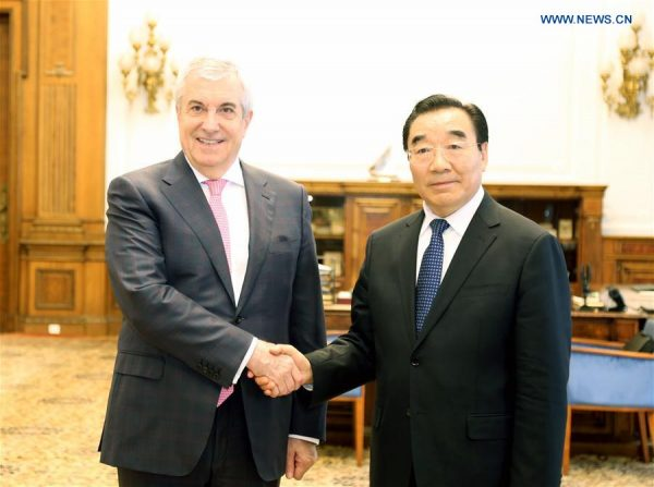 Romania, China Willing To Strengthen Bilateral Ties
