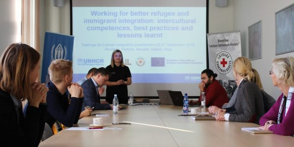 Latvian Red Cross, UNHCR Raise Awareness On Migration Issues With Regional Training